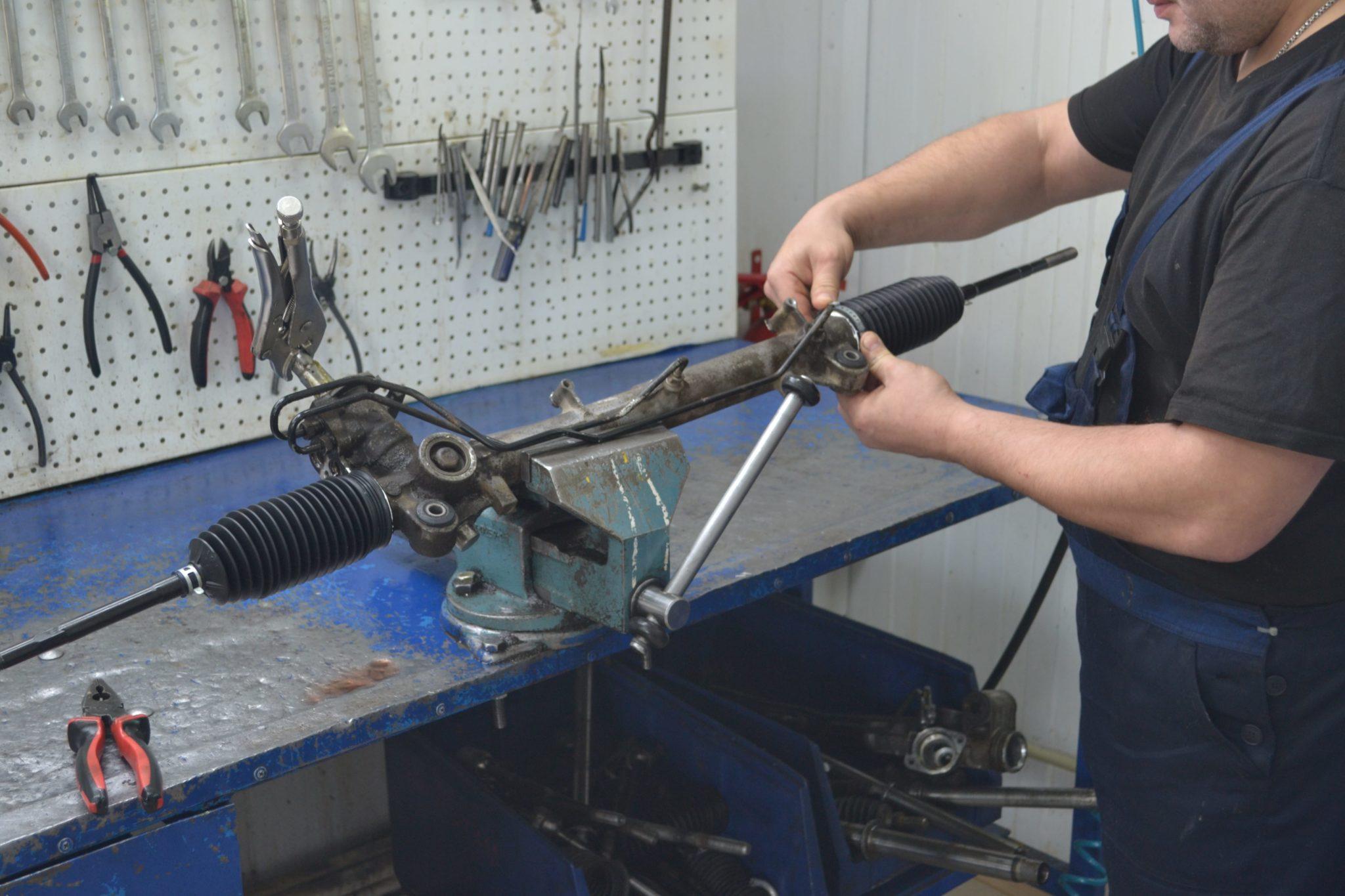 ремонт рулевой рейки Renault Duster